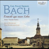 CPE Bach: Erwacht zum neuen Leben, sacred songs / Julian Redlin, bass; Jorn Boysen, harpsichord