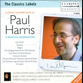 Paul Harris: A Musical Celebration /  Victoria Soames Samek, clarinet; Michale Bell, piano