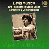 David Munrow - Two Renaissance Dance Bands, etc