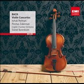 J.S. Bach: Violin Concertos / Itzhak Perlman; Pinchas Zukerman - Daniel Barenboim