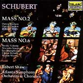 Schubert: Masses no 2 & 6 / Shaw, Atlanta SO & Chorus