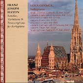 Haydn: Sonatas, Variations & Transcriptions / Lola Odiaga