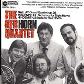 Gallay, Hindemith, Wadenpfuhl: Horn Quartets / NFB Horn Qt