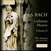 J.S. Bach: Lutheran Masses, Vol. 2 - Mass BWV 236; Cantata BWV 79; Mass BWV 234 / The Sixteen, Christophers