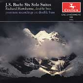 Bach: Six Cello Suites / Richard Hartshorne