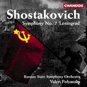 Shostakovich: Symphony no 7 / Polyansky, Russian State SO