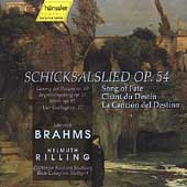 Brahms: Schicksalslied, etc / Rilling, Bach Collegium
