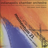 Momentum 21: New Music for a New Century - works by James Aikman, Derek Bermel, Michael-Thomas Foumai, Christopher Theofanidis / Derek Johnson, electric guitar; Martin Kuuskmann, bassoon