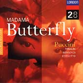 Puccini: Madama Butterfly / Serafin, Tebaldi, Bergonzi et al