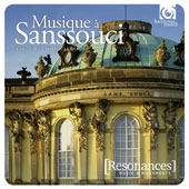 Music at Sanssouci - chamber & orchestral works for by Graun, Friedrich II; C.P.E. Bach; J.S. Bach / various artists [2 CDs]