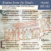 Psalms from St. Paul's Vol 9 - Psalms 105-113 / Scott, et al