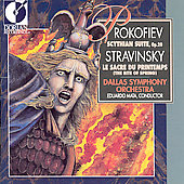 Prokofiev: Scythian Suite;  Stravinsky / Mata, Dallas SO