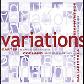 Variations - Copland, Carter, Ives, Dallapiccola