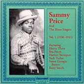Sammy Price & the Blues Singers: Sammy Price and the Blues Singers: 1938-1941