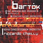 Bartók: The Miraculous Mandarin, etc / Chailly, et al