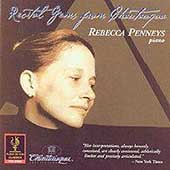 Recital Gems from Chautauqua / Rebecca Penneys