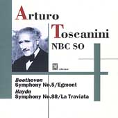 Verdi: Preludes;  Haydn, Beethoven: Symphonies / Toscanini