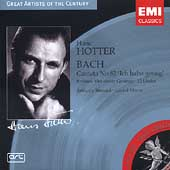 Bach: Cantata no 82;  Brahms / Hans Hotter