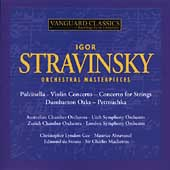 Stravinsky: Orchestral Masterpieces / Mackerras, Arbavanel