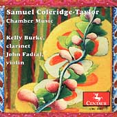 Samuel Coleridge-Taylor: Chamber Music / Burke, Fadial