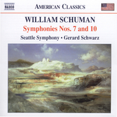 American Classics - Schuman: Symphonies no 7 & 10 / Schwarz