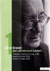 Alfred Brendel Plays Schubert Vol. 1 / Fantasy D760, Sonatas D784, D840 [DVD]