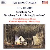 American Classics - Harris: Symphonies 3 & 4 / Alsop, et al