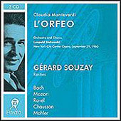 Monteverdi: L'Orfeo;  Mozart, Bach, etc / Stokowski, Souzay
