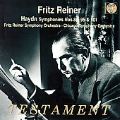 Haydn: Symphonies no 88, 95 & 101 / Reiner, et al