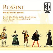 Rossini: The Barber of Seville / Levine, Sills, Gedda, et al