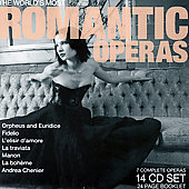 The World's Most Romantic Operas / Gavazzeni, Ozawa, et al [14 CDs]