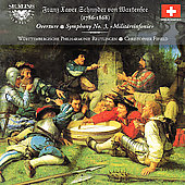 Schnyder von Wartensee: Symphony no 3, etc / Fifield, et al