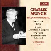 Charles Munch - Debussy, Ravel, Roussel / NBC Symphony Orchestra