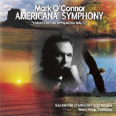 O'Connor: Americana Symphony, Violin Concerto no 6 / O'Connor, Alsop, Smirnoff, et al