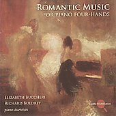 Romantic Music for Piano Four-Hands - Onslow, Grieg, Liszt, Wagner, etc / Buccheri, Boldrey