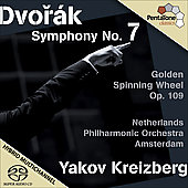 Dvor&aacute;k: Symphony no 7 Op 70, Golden Spinning Wheel Op 109 / Kreizberg, Netherlands PO