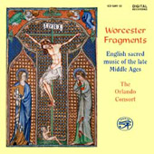 Worcester Fragments - English Sacred Music / Orlando Consort