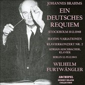 Brahms: Ein Deutsches Requiem; Haydn-Variations