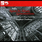 Tallis: Spem In Alium; Lamentations / Cleobury