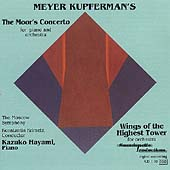 Kupferman: The Moor's Concerto, etc / Hayami, Krimetz, et al