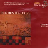 Rue Des Jugleors / Ensemble Anonymous