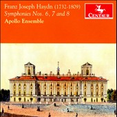 Haydn: Symphonies Nos. 6 - 8 / Apollo Ensemble