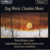 Wir&#233;n: Chamber Music Vol 2 / Bojsten, Thed&#233;en, H&#246;gman