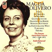 Magda Olivero - The Famous Amsterdam Concerts, etc