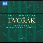 Dvorak: The Complete Published Orchestral Works / various artists [17 CDs]