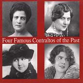 Four Famous Contraltos of the Past