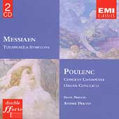 Messiaen: Turangal&icirc;la Symphony;  Poulenc / Previn, Preston