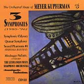 The Orchestral Music of Meyer Kupferman Vol 9 / Mindaugas Piecaitis, Lithuanian State SO