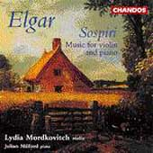 Elgar: Music for Violin & Piano / Mordkovitch, Milford