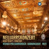 Neujahrskonzert (Best of New Year's Concert) - music of the Strauss family / Vienna PO, Harnoncourt, Muti